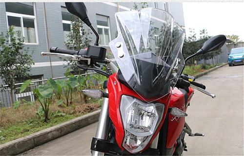 Windscreen Windshield Shield Screen with Bracket for Benelli TNT25 BJ250-15a TNT 25  Black Transparent Brown