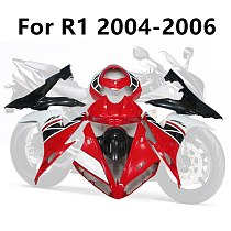 5 Colour Motorcycle Cowling For Yamaha YZF1000 R1 04 05 06 Full Fairing Kits Bodywork Kit YZF R1 2004 2005 2006 The front white