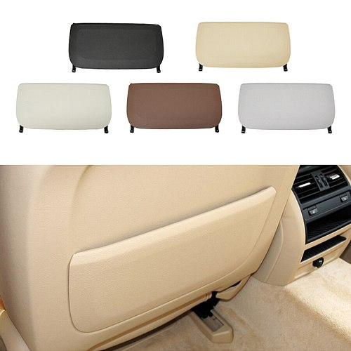Front Seat Back Rest Leather Pocket Trim Cover Replacement For BMW 5 Series 7 Series F18 F07 F01 F02 730 735 740