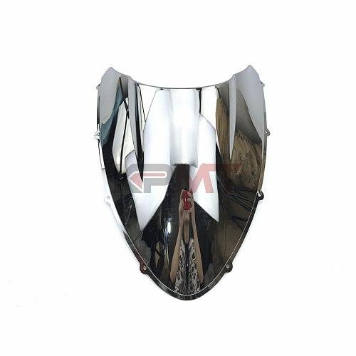 Windscreen Screen Wind Deflectors Smoke Clear Windshield Double Bubble For Ducati 848 1098 1198 1098s 1198s