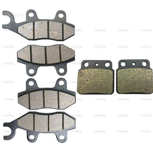 Disc Brake Pads set fit SUZUKI LT-R LTR 450 R Quadracer SE (06-11) 450 Z Quadracer (09-11) Front Rear