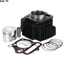 140cc Cylinder Piston Gasket Kit Fit For 55mm Bore Lifan 1P55FMJ LF 140 Horizontal Engines 140cc Dirt Bike Pit Bike Parts