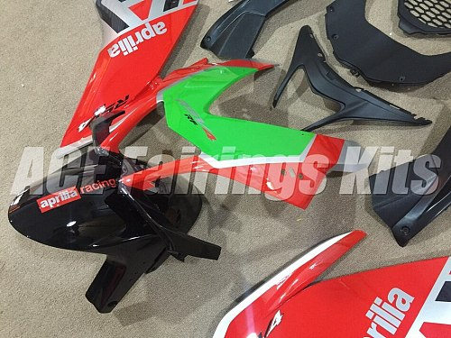 New Injection mold ABS Full Fairing kits Fit for Aprilia RSV4 1000 2009-2014 09 10 11 12 13 14 Fairings set red silver