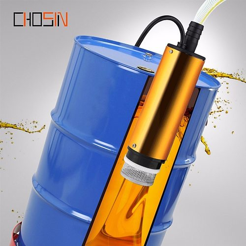 12v 24v aluminum Alloy Shell, Dc Electric Submersible Pump For Pumping Diesel Oil Water,12l/min,fuel Transfer Pump 12 V Volt