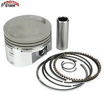 LF lifan 150cc Oil Cooling Cooled Horizontal 4-Stroke engine parts engine Engine Piston And Piston Ring Set