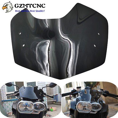 K1200R 05-08 K1300R 09-15 Windshield WindScreen Front Glass Cover Deflectors Wind Shield Screen for BMW K1200 K1300 R 2005-2015