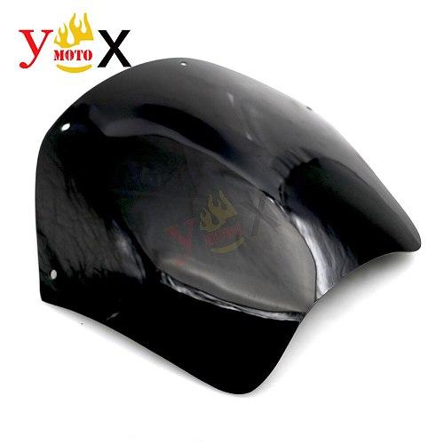 Black ABS Windscreen Windshield Deflector Airflow For Suzuki Bandit 600 GSF600 1995-1999 Bandit 1200 GSF1200 1996-2000 1997 98