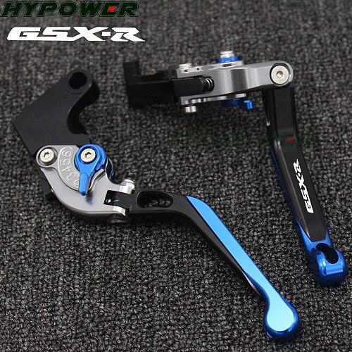 For SUZUKI GSXR125 GSX R 150 GSX-S125 GSXS 150 CNC 17 18 Aluminum Extendable Brake Clutch Levers Foldable Motorcycle Accessories