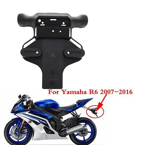 Rear Fender Mudguard License Plate Taillight Support Turn Light Holder For Yamaha YZFR6 YZF-R6 YZF R6 2007 2008 2009 2010 - 2016