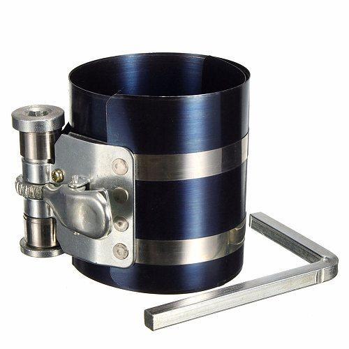 3  Car Engine Piston Ring Compressor Tool Installer Band Ratcheting 53-125mm