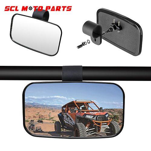 ALconstar- Motorcycle Modified Rear View Mirror 1.5'' 1.75'' 2'' Off-road Vehicle Rear Mirror Set 1Pcs For UTV/ ATV