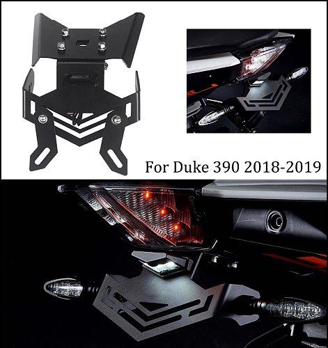 mtkracing for duke 390 duke390 tail tidy ffender rear License plate holder frame rear card 2018-2019
