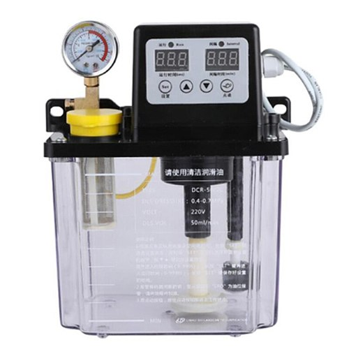 2L Lubricating Oil Pump Automatic Lubricating Oil Pump Electronetic Lubrication Pump Lubricator