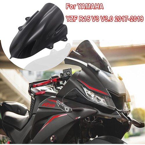 Motorcycle FOR YAMAHA YZF-R15 V3 V3.0 Front windshield goggles Sun visor windshield 17-19