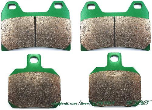 Brake Shoe Pads Set For Moto Guzzi Breva 750 Ie 2003 2004 2005 2006 2007 2008 2009 2010 2011