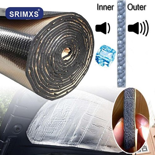 Car Noise Insulation 140x100cm Heat Sound Pad Car Engine Soundproofing Sound Deadening Insulation Thermal Proofing Pad