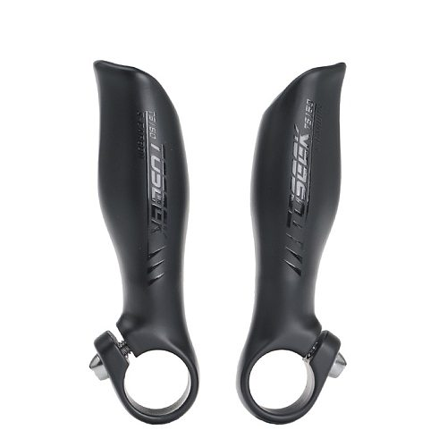 NEW TOSEEK UD Matte Black Carbon Fiber Mountain mtb bike Small Auxiliary Handlebar MTB bicycle bar end Parts