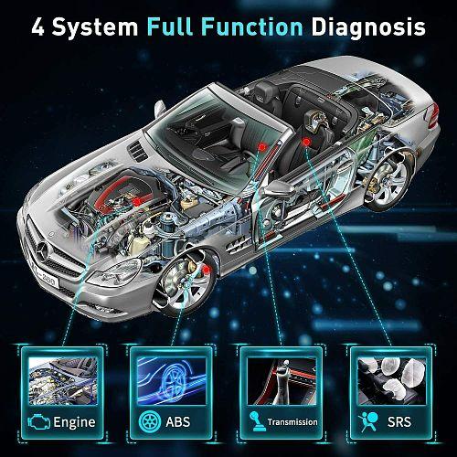 LAUNCH X431 CRP123I OBD2 Diagnostic Scanner Engine ABS SRS Transmission Car Diagnostic Tools OBD OBD2 Automotive Scanner CRP123i