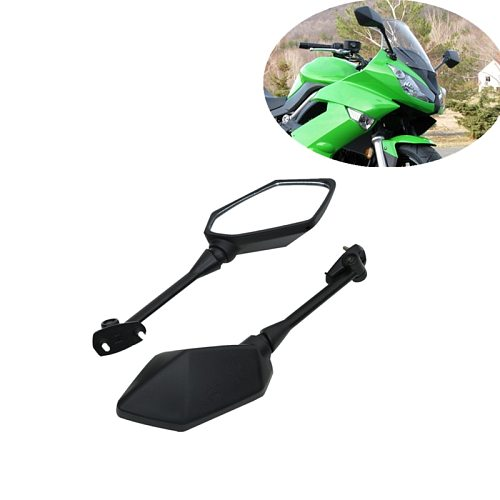 Motorcycle Rearview Rear View Mirrors For KAWASAKI NINJA 650R ER6F ER-6F 2009-2016 NINJA 400R 2010-2014 Z1000SX 2011-2014