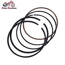 66.5mm Motorcycle Engine Piston and Ring Kit For SUZUKI SX200 SX 200 SX200R 1985-1990 +50 Oversize 0.5 +0.5mm