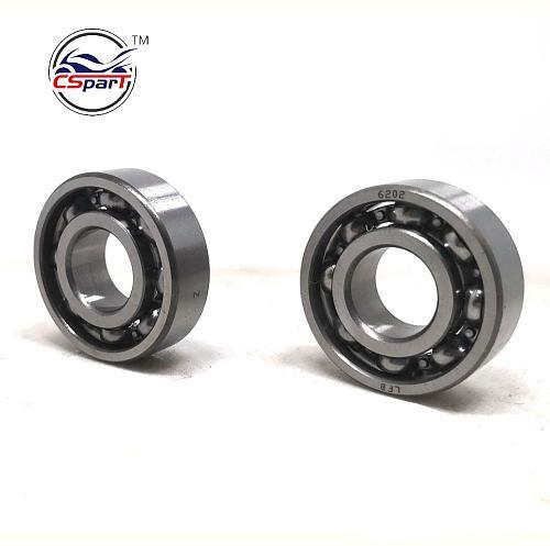 2PCS Crankshaft bearing For 2 stroke 47CC 49CC CAGLLARI CAG MTA1 MTA2 MINI QUAD ATV CARB