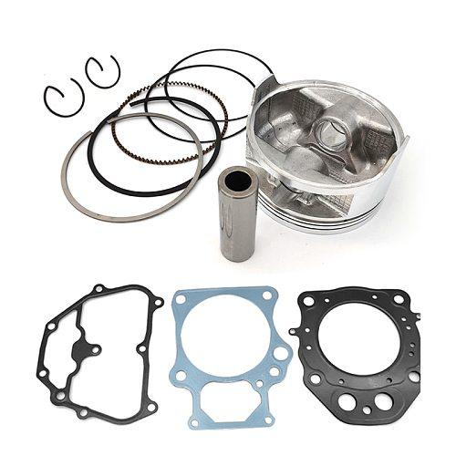 86.50mm Aluminum Piston Gasket Ring Kit for Honda Rancher TRX420 2007-2018 13101-HP5-600