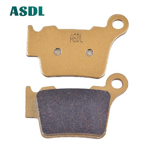 Motorcycle Rear Brake Pads For HUSABERG TE 125 250 For HUSQVARNA CR 125 250 SM 450 510 For KTM SX 125 150 EXC 125 200 250 300