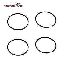44mm Cylinder Piston Rings for Yamaha PW50 PW60 QT60 60CC Big Bore Scooter ATV Dirt Pit Kids Bike Motorcycle Accessories