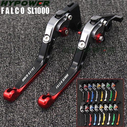 Motorcycle Folding Extendable CNC Moto Adjustable Clutch Brake Levers For Aprilia FALCO  SL1000 SL 1000 2000 2001 2002 2003 2004