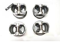 (4pcs/set) Pistons Rings and pins for Chinese SAIC ROEWE 550 MG6 750 1.8T engine Auto car motor parts LFPS0010B