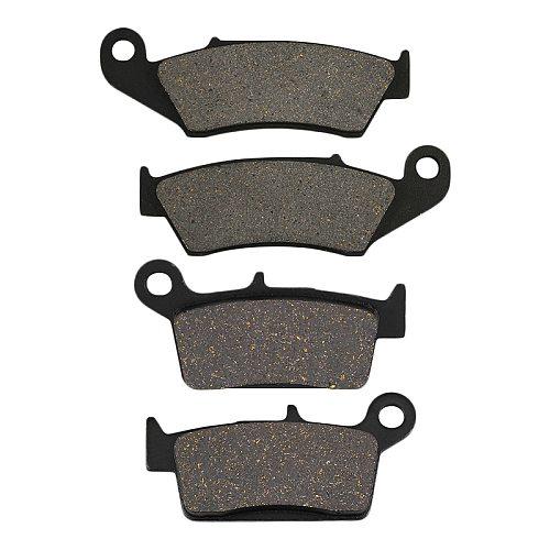 Motorcycle Front Rear Brake Pads For Kawasaki KX125 KX250 KX500 KX 125 250 500 KLX250 KLX 250 S KLX 300 KLX400 KLX650 KLX 650 R