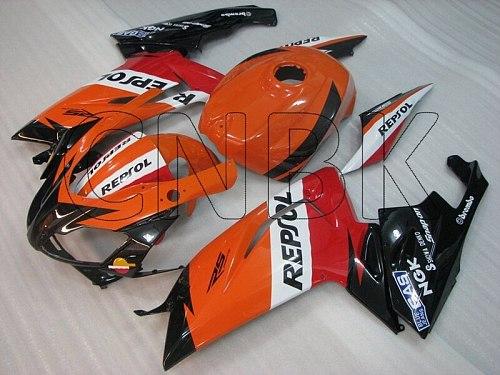 RS 125 2007 Bodywork for Aprilia RS125 07 08 Repsol Fairing Kits for Aprilia RS125 2006 - 2011 Full Body Kits