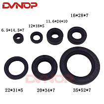 Full Complete Engine Oil Seal Rubber Gear Shaft Seal For Honda CBT125 CBT 125 244FMI 247FMJ Seal Parts