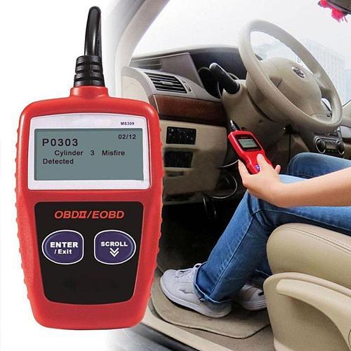 Universal Professional All Car Fault Code Reader Engine Scanner Diagnostic Reset Tool