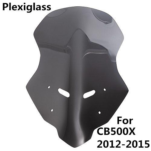 Motorcycle Accessories WindScreen Windshield For HONDA CB500X 2012 2013 2014 2015 CB 500X