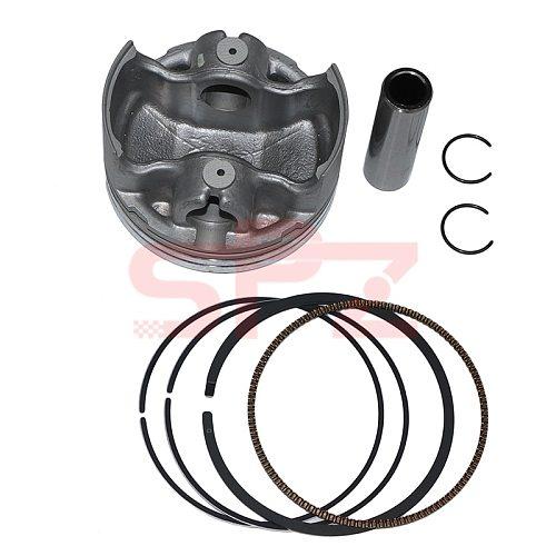 62mm Big Bore Racing piston ring for Yamaha NMAX N max Nmax 155 Aerox TRICITY R15 NVX 155cc to 183cc 2DP