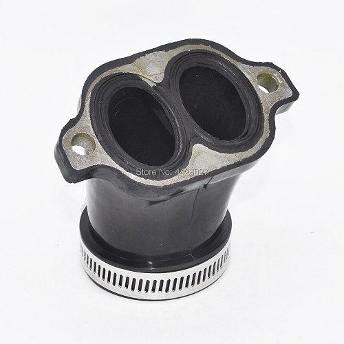 Carburetor Carb Manifold Intake Adapter Boot For Polaris Sportsman 700 4X4 2002-2006 600 4X4 2003-2005 Polaris Twin Cylinder