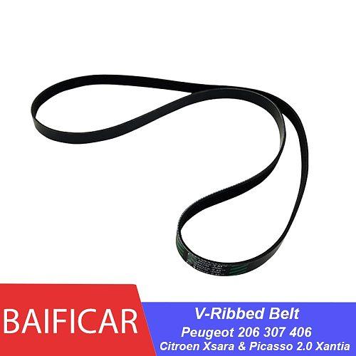 Baificar Brand Genuine Alternator Fan Drive V-Ribbed Belt 6PK1726 6PK1725 For Peugeot 206CC 307 406 Citroen Xsara & Picasso 2.0