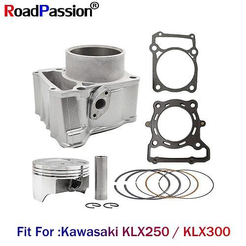 Motorcycle Engine Accessories Cylinder&Piston&Rings&Gaskets (Diameter 78mm) For Kawasaki KLX250 1993-2018 KLX300 1996-2007