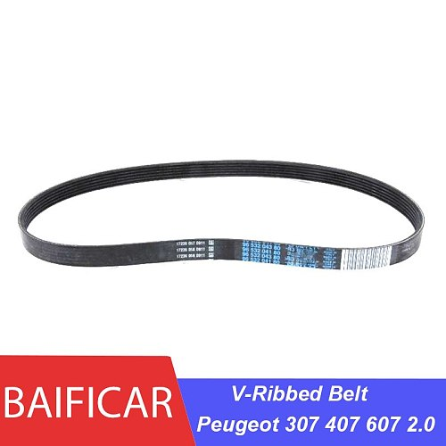 Baificar Brand New Generator  V-Ribbed Belt 9653204380 5750XG 6PK998 For Peugeot 307 407 607 2.0
