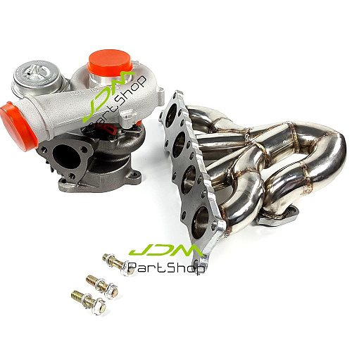 K04-020/022/023 Turbo charger+ Exhaust Manifold Header for Audi A3 S3 TT 8N / Seat Leon 210 225BHP