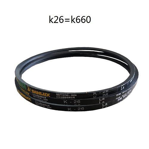 NEW 2Pcs/lot  K26 V-belt Driving belt Triangle belt for Bench drilling machine Packing machine