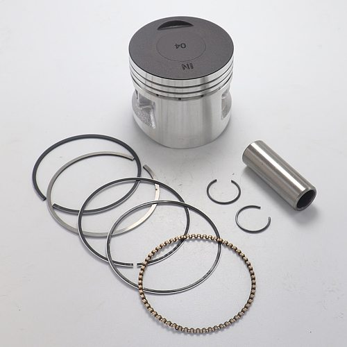 Motorcycle 55mm Piston and 15mm Pin Ring Set Fit For LIFAN 140cc Engine Off Road Pit Dirt Bike Parts