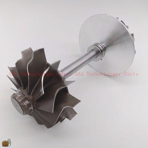 HX40W Turbine wheel 64x76mm,12blades,compressor wheel 60x83mm 8/8,Turbo parts rebuild kits supplier AAA Turbocharger Parts