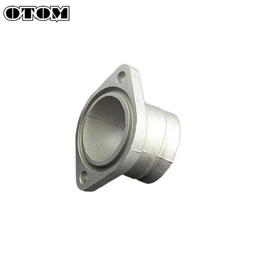 OTOM Motorcycle Carburetor Intake Manifold Interface Pipe O-Ring Aluminum Alloy For ZONGSHEN Engine NC250 KAYO T6 K6 BOSUER J5