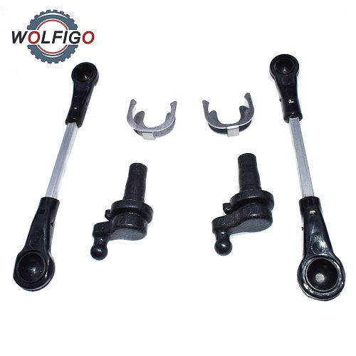 WOLFIGO Intake Manifold Swirl Flap Repair Kit For Audi A4 A5 A6 A7 A8 Q5 Q7 VW Touareg 2.7 3.0 TDI 059198212 059129086