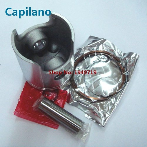 motorcycle TS125 piston kit with piston ring 56mm bore 14mm piston pin for yamaha 2 stroke 125cc TS 125 engine parts
