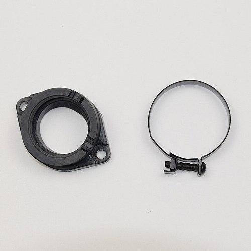 Motorcycle Carburetor Intake Manifold MV34 For Loncin CR6 VOGE300R YF300 YF 300 Carburetor Plastic Outlet Interface