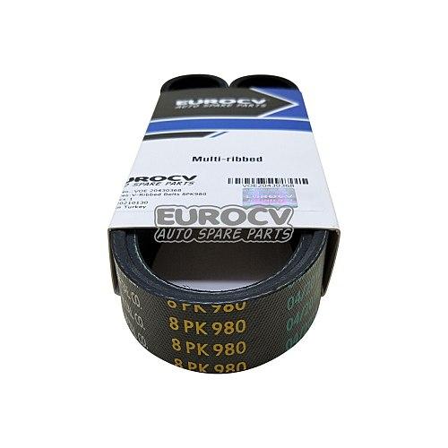 Spare Parts for Volvo Trucks VOE 20430368 V-Ribbed Belts 8PK980