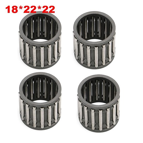 18X22X22 Piston Wrist Pin Bearing Caged Needle ball roller Bearings For Honda CR250R CR250 R 1986 - 2007 / For YZ250 1999 - 2014